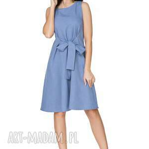 urokliwe sukienka 2w1 wiązana na kokardę