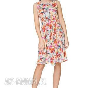 elegancka sukienki sukienka 2w1 wiązana na kokardę