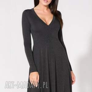 gustowne sukienki sukienka z dekoltem, t146