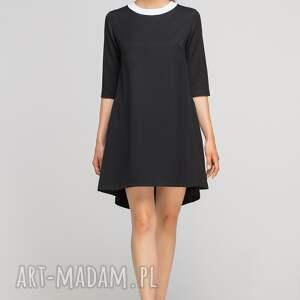 unikalne sukienki casual sukienka z dłuższym tyłem, suk148