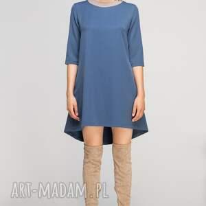 sukienki casual sukienka z dłuższym tyłem, suk148
