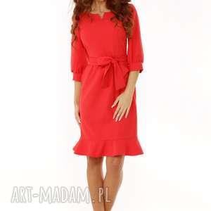 sukienki elegancka sukienka stylowa z dekoltem