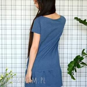 sukienki eko sukienka z falbaną s/m/l/xl