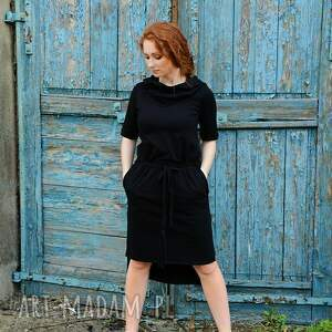 sukienki sukienka z kapturem