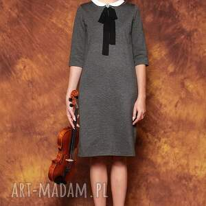 ręcznie zrobione sukienki sukienka z kokardą