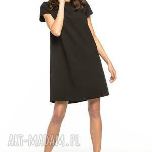 urokliwe sukienki sukienka z kontrafałdą na plecach