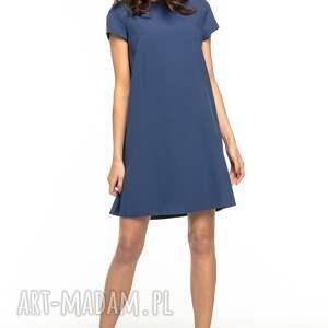 sukienki sukienka z kontrafałdą na plecach