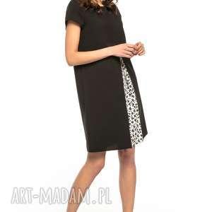 ciekawe sukienki sukienka z kontrafałdą przodu