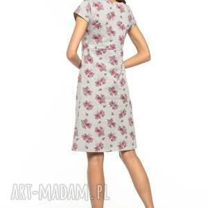 sukienki kontrafałda sukienka z kontrafałdą z przodu