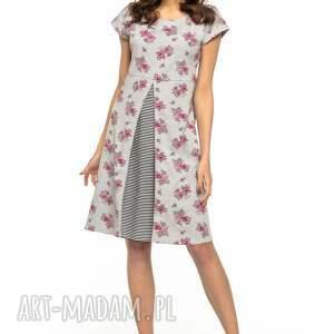 ciekawe sukienki sukienka z kontrafałdą z przodu