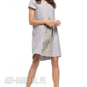 eleganckie sukienki sukienka z kontrafałdą przodu