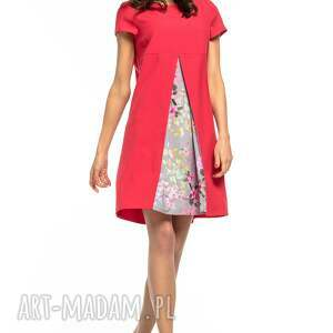 ręcznie robione sukienki sukienka z kontrafałdą przodu
