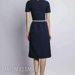 sukienki sukienka z krótkim rękawem, suk128