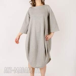 wyjątkowe sukienki dzianina sukienka z metalicznej dzianiny