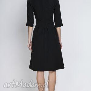 sukienki kieszenie sukienka z rozkloszowanym dołem