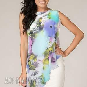 trendy sukienki lekka sukienka z woalką lila 3