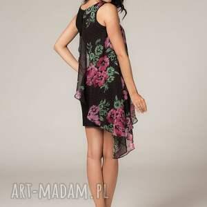 TESSITA Sukienka z woalką Lila 2 - Ręczne wykonanie zwiewna