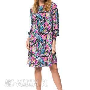 różowe sukienki jesienna sukienka zainab