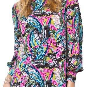 kolorowa sukienki kolorowe sukienka zainab