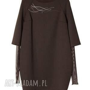 szare sukienki elegancka sukienka zazou