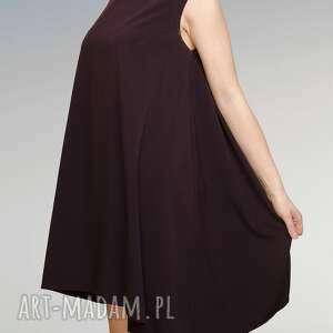 boki sukienki sukienka ze streczu z dłuższymi