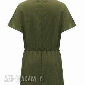 prezent sukienki sukienka zielona na lato