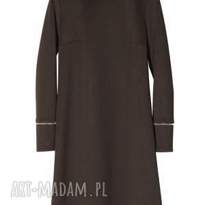 czarne sukienki zamek sukienka zippa