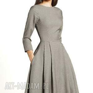 czarne sukienki sukienka zuza midi eliza