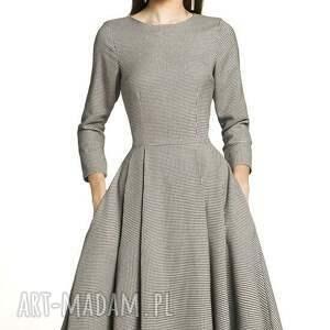 gustowne sukienki pepitka sukienka zuza midi eliza