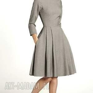 gustowne sukienki rozkloszowana sukienka zuza midi eliza