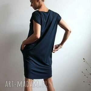 nietuzinkowe sukienki tunika sukienka zwiewna oversize kolory