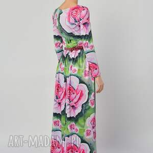 sukienki jersey suknia - botanical garden