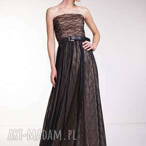 czarne sukienki wesele suknia debora