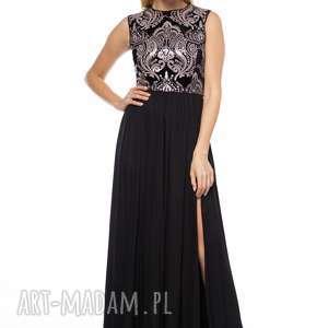 czarne sukienki suknia jelena