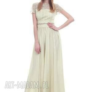 żółte sukienki moda suknia naima