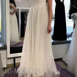 sukienki suknia ślubna nowa, model z salonu