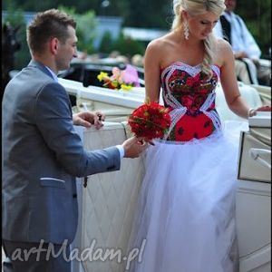 góralska sukienki suknia ślubna inspirowana