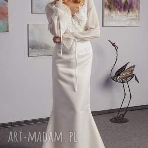 wedding suknia ślubna szyta na miarę