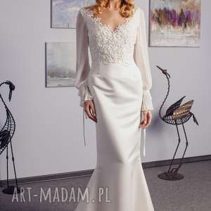 handmade sukienki suknia ślubna szyta na miarę