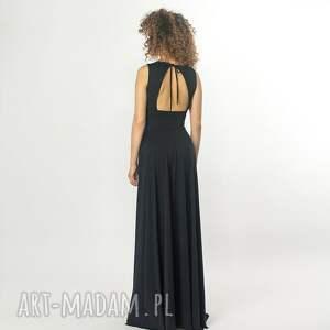 sukienki elastyczna suknia z odkrytymi plecami