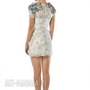 sukienki koronka tworzysława mini - koronkowa