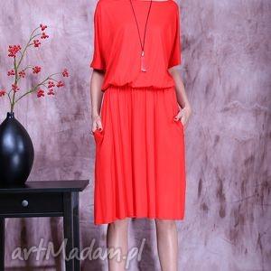 modne sukienki sukienka uniwersalna z kieszeniami