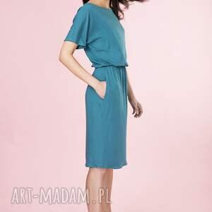 handmade sukienki sukienka uniwersalna z kieszeniami