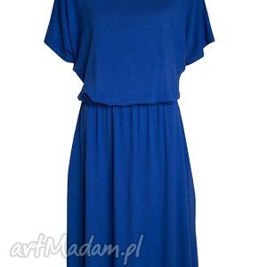letnia sukienki uniwersalna szafirowa sukienka