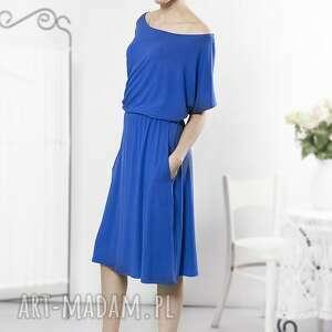 sukienki sukienka uniwersalna szafirowa