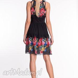 czarne sukienki moda veronique - sukienka