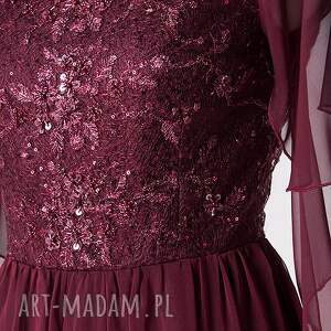 sukienki koronka violetta - suknia