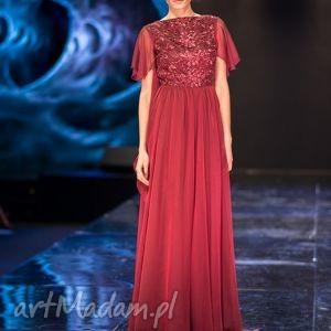 sukienki moda violetta - suknia