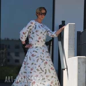 gustowne sukienki w piórka sukienka