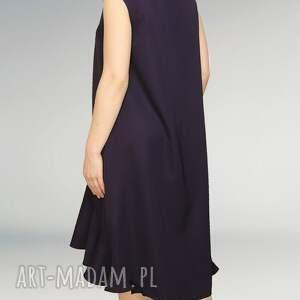 wełniana sukienki elegancka sukienka